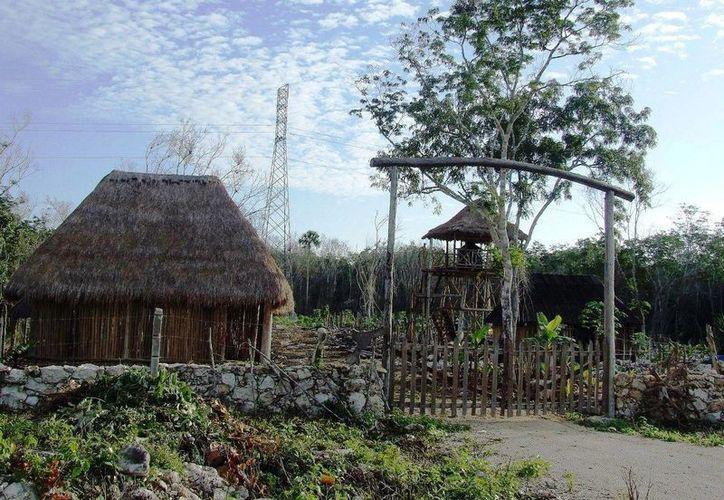 Es en las cercanías del poblado de Manuel Antonio Ay donde se ubican las viviendas irrregulares bajo las torres de alta tensión. (Rossy López/SIPSE)