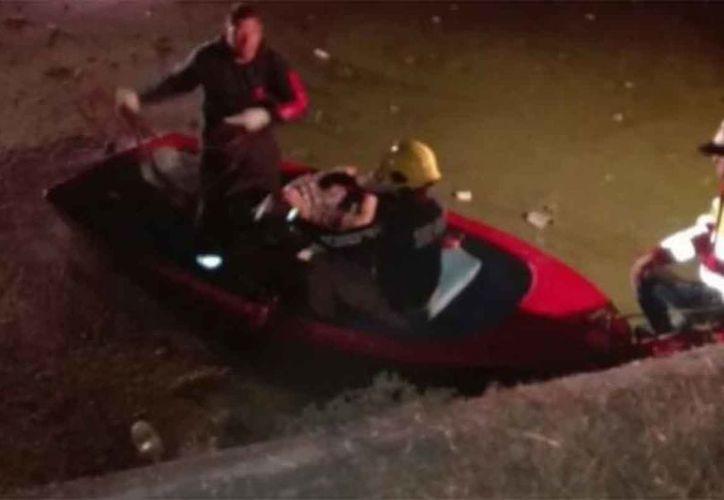 """Los rescatistas ubicaron el cuerpo del segundo menor identificado por familiares como Ángel """"N"""". (Quadratín)"""