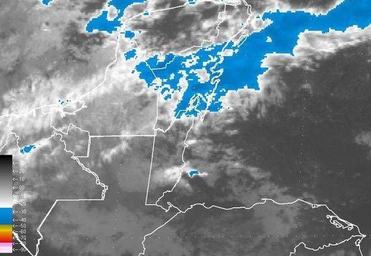 Pronostican una máxima de 27grados, con un 80% probabilidad de lluvia para la ciudad de Cancún. (Redacción/SIPSE)