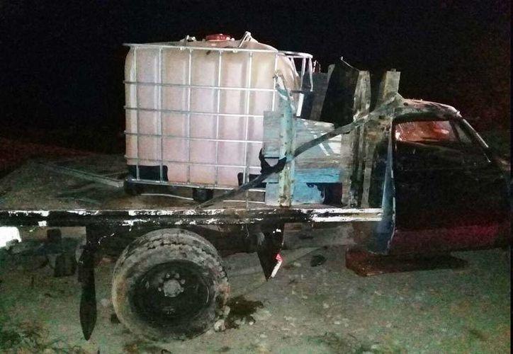 El combustible asegurado fue puesto a disposición de las autoridades competentes. (Milenio)