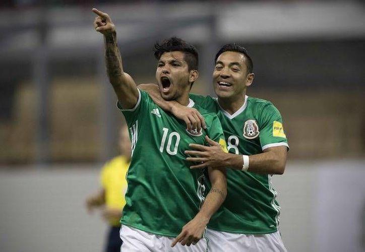 La selección mexicana se ubicó como el mejor de Concacaf, al subir hasta la posición 16 del ranking FIFA. (Notimex)
