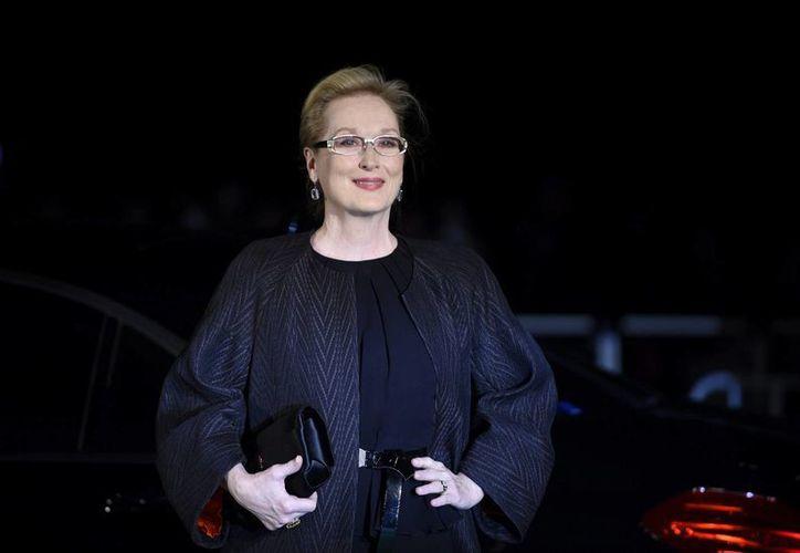 La actriz Meryl Streep crea y apoya económicamente un programa anual para contribuir al desarrollo de historias escritas por creadoras. (EFE)