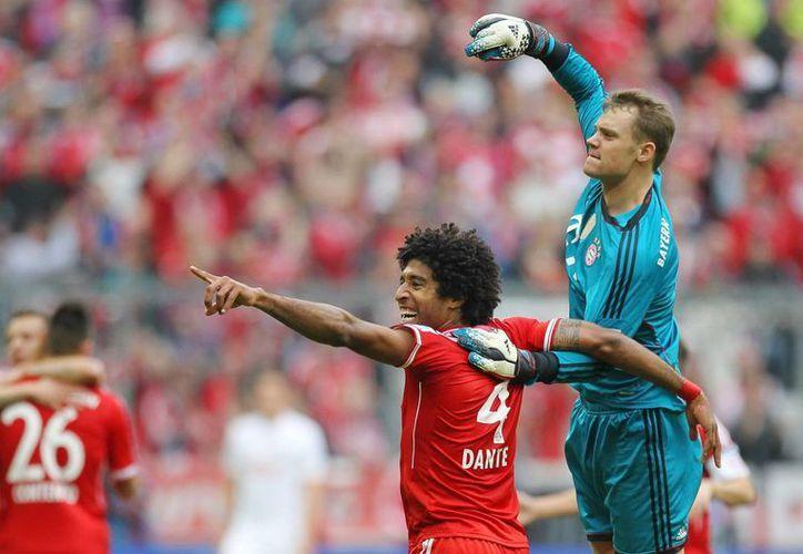 EL Bayern, actual líder de la Bundesliga, acumula 46 partidos sin derrota. (Foto: EFE)