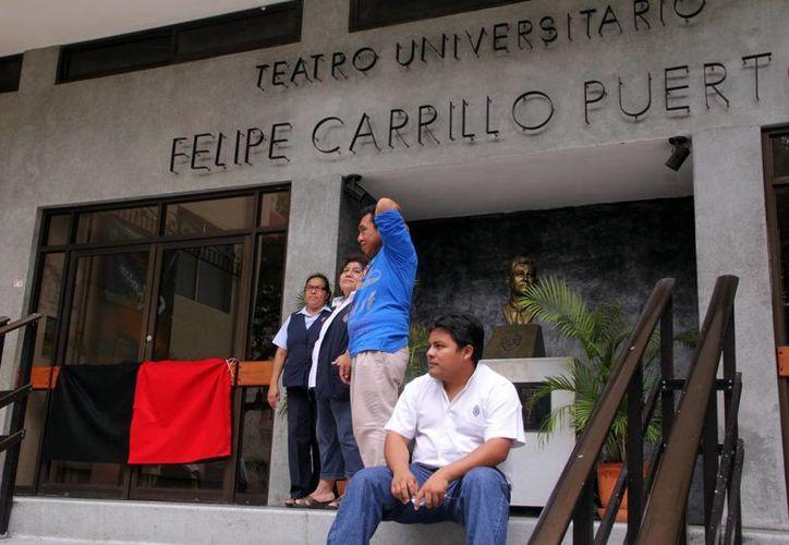 La huelga en la Uady podría prolongarse más allá de esta semana. (José Acosta/SIPSE)