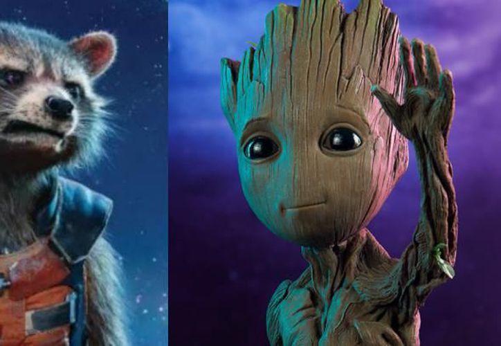 Groot dedicó sus últimas palabras a Rocket Raccoon. (Internet)