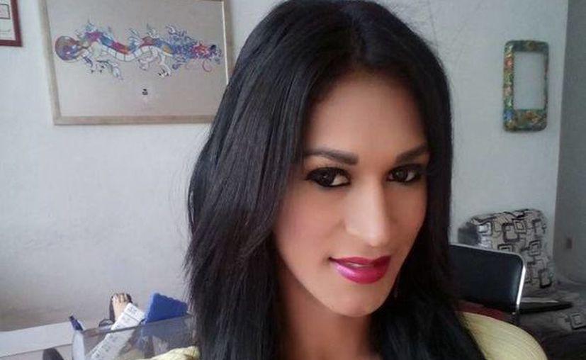 El cuerpo de Paullet González o Luis Jean González Virgen, reina gay 2015 en Nayarit, fue hallado en Guanajuato. (Facebook Paulett Gonzalez)