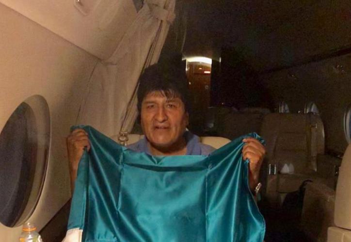Ayer el Gobierno de México ofreció asilo político a Evo Morales, quien lo aceptó e hizo la petición formal. (AP Photo/Juan Karita)