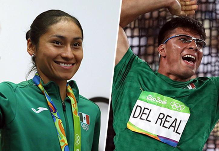 Los elegidos para encabezar la delegación nacional en Londres son Lupita González y Diego del Real. (El Financiero)
