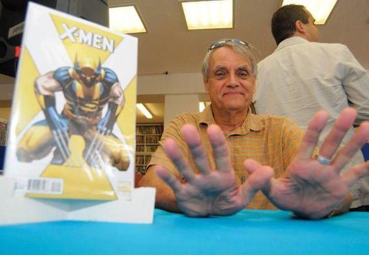 """Esta tarde se llevará a cabo una plática; el miércoles se ofrecerá una función de """"Wolverine inmortal"""", en Cinemex con Trimpe presente, y el jueves cenará con sus fanáticos en el restaurante ComicX. (Foto de Contexto/razon.com.mx)"""