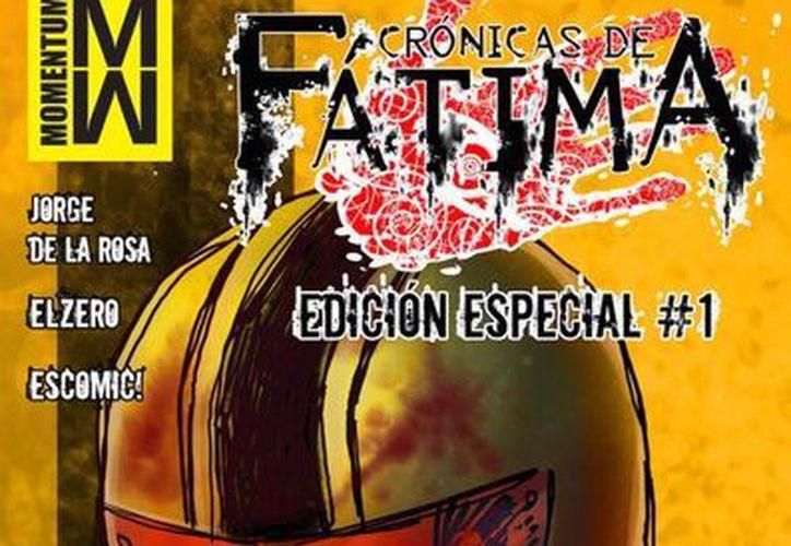 Jagger es el escritor de <i>Crónicas de Fátima</i>, título que actualmente cuenta con 10 números. (Foto: momentumcomics.com)