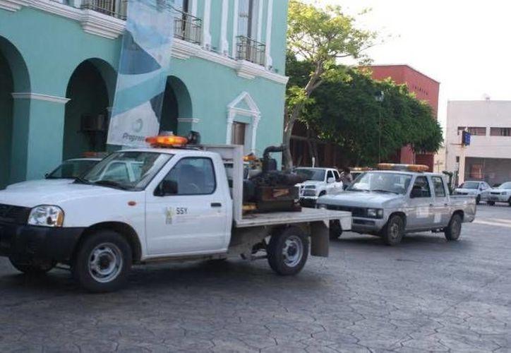 En Progreso se realizó la presentación del plan de fumigación en la costa de Yucatán. (Óscar Pérez/SIPSE)