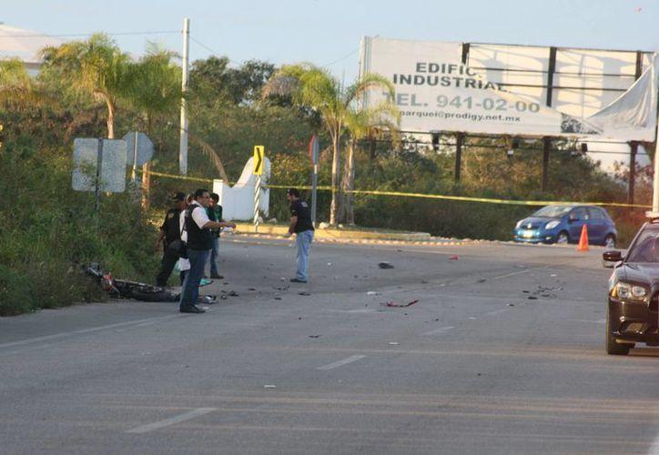 Ayer publicamos la trágica muerte de un joven conductor identificado como Roberto M., en una lateral de la carretera Mérida-Progreso. (Foto de contexto. Milenio Novedades)