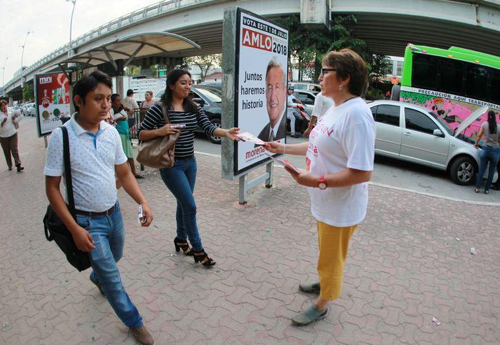La candidata a la alcaldía de Solidaridad trabajará de la mano con los empresarios para consolidar el desarrollo económico. (Foto: Redacción/SIPSE)