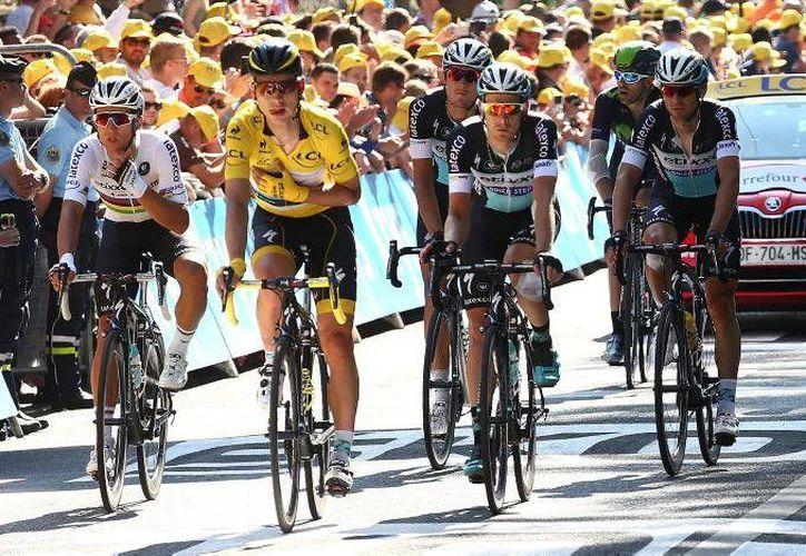 Este lunes se dio a conocer el punto de arranque del Tour de Francia 2017, que será en una ciudad alemania por primera vez desde 1987 (Archivo AP).