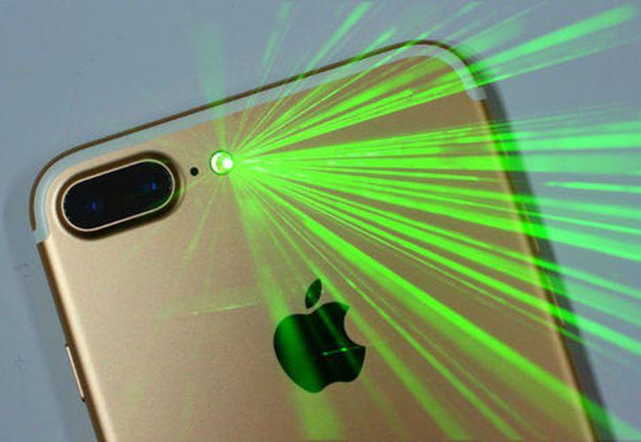 La compañía Apple trabaja en un sistema de rayos láser 3D. (Especial/Milenio).