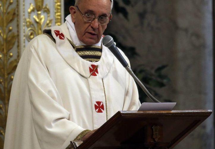 El Papa encabezó el rezo dominical del Regina Coeli. (Agencias)