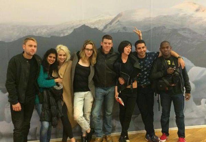 """Netflix reveló la identidad de los actores de """"Sense8"""" su nueva producción original. (Fotografía: JMichael Straczynski) (twitter)."""