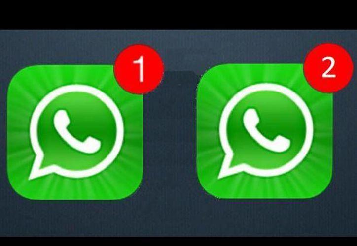 Puedes tener dos cuentas de WhatsApp diferentes en el mismo teléfono. (Contexto/Internet)