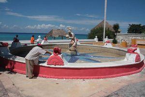 Anuncian rescate de fuentes en Cozumel