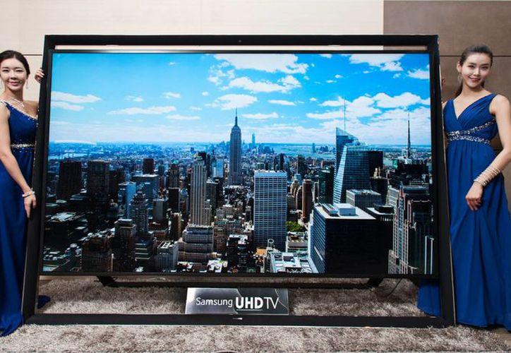 La pantalla tiene un precio de venta en Corea del Sur será de 150 mil dólares. (Agencias)