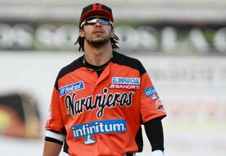 Con Naranjeros de Hermosillo bateó un promedio de .361, con lo que consiguió el título de Champion bat. (Cortesía/Internet)