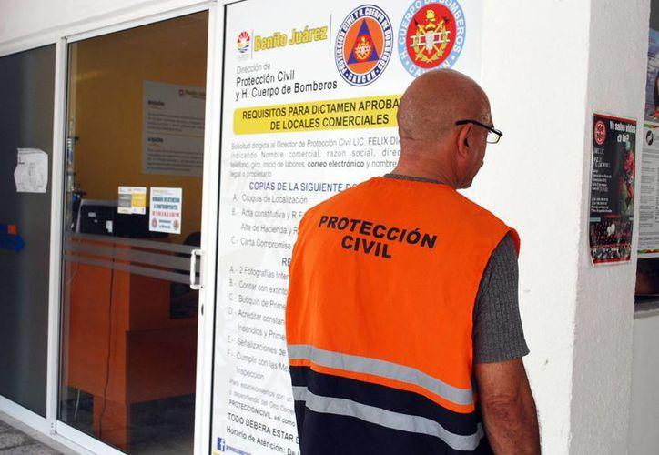 El Catálogo de Trámites y Servicios de la Dirección General de Protección Civil será de mucho beneficio para la población. (Tomás Álvarez/SIPSE)