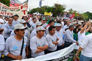 Yucatecos celebran el Día del Trabajo en el Paseo de Montejo
