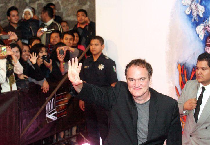 El filme es protagonizado por Brad Pitt, Leonardo DiCaprio y Margot RobbieFoto: Reforma/Roberto Antillón)