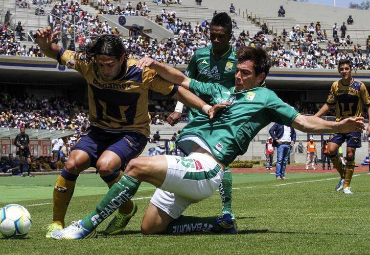 Estadio de Ciudad Universitaria que será sede del duelo entre las escuadras felinas Pumas y Tigres. (Notimex/Archivo)