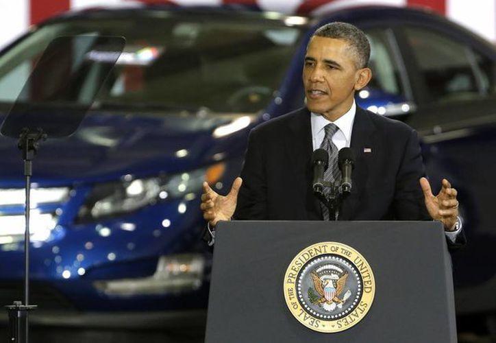 Obama dice que su propuesta no es solamente un plan de energía limpia. (Agencias)