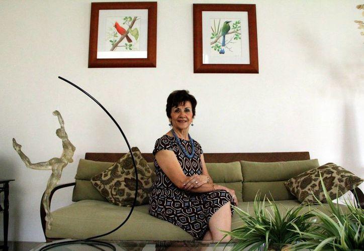 La maestra de ballet Bertha de la Peña descubrió desde niña cuál sería su proyecto de vida. (Milenio Novedades)