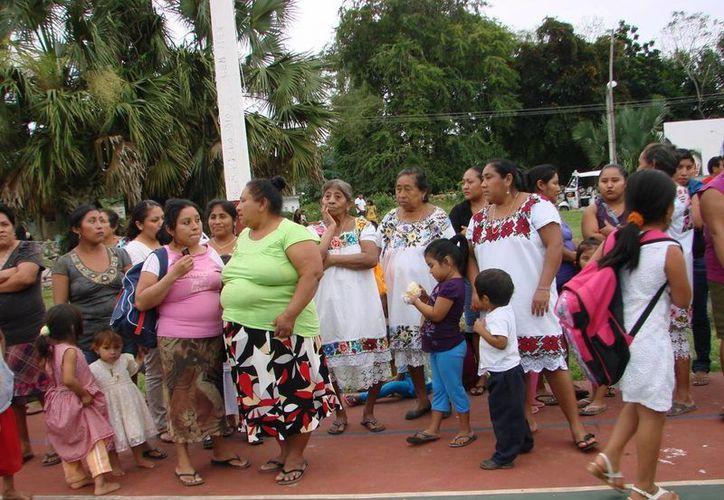 Habitantes de las comunidades rurales han contribuido para que Derechos Humanos responda con mayor prontitud. (Manuel Salazar/SIPSE)