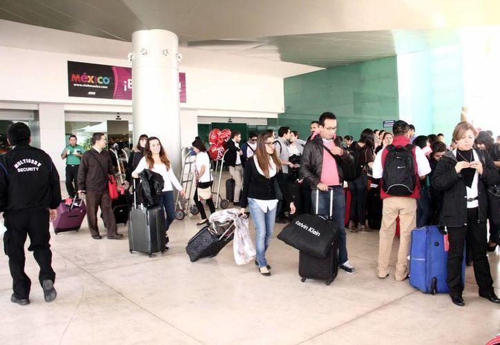 Con la inauguración del vuelo Mérida-Milán se asegura la llegada de turistas italianos a Yucatán. (Milenio Novedades)