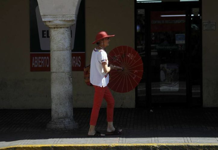 Los termómetros podrían llegar de nuevo a los 40 grados este domingo, según el Centro Meteorológico Regional de Mérida. (SIPSE)