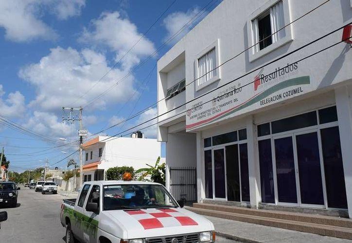 Sintra no ha dada concesiones porque hubo un mal manejo en el gobierno anterior, asegura su titular en Cozumel. (Foto: Gustavo Villegas)