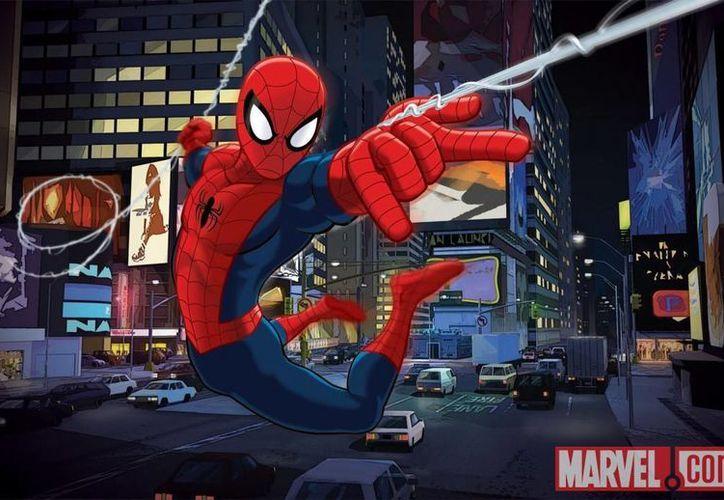 """La nueva serie """"Marvel Universe Ultimate Spider-Man"""" es el primer título en formato digital para niños de la línea Infinite Comics. (marvel.com)"""