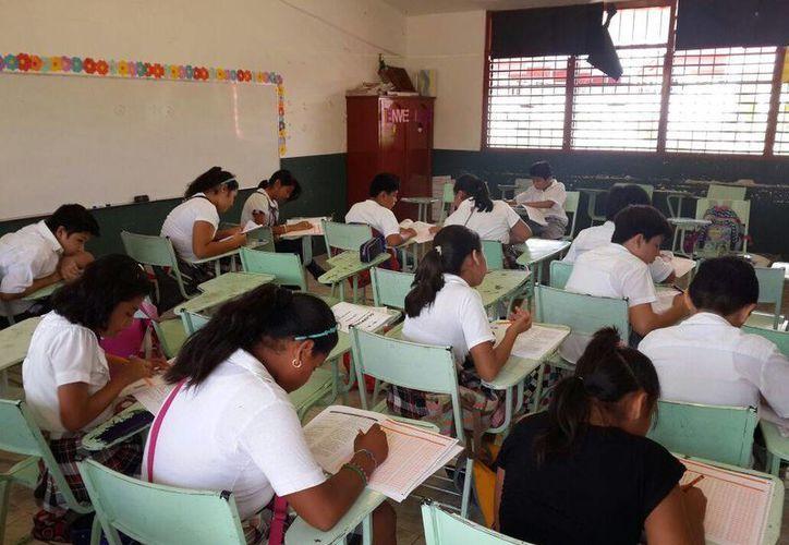 Un total de 140 niños y niñas que estudian el sexto grado de primaria participan en la fase estatal. (Harold Alcocer/SIPSE)