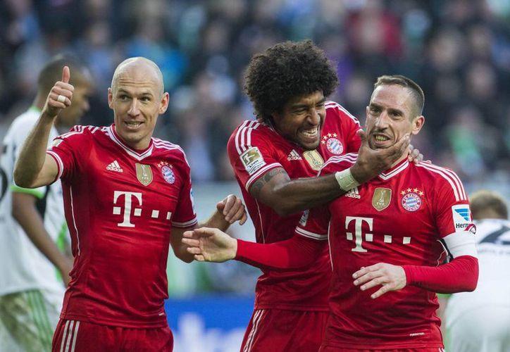 El Bayern extendió a 49 su racha de partidos sin perder en la liga. (Foto: Agencias)