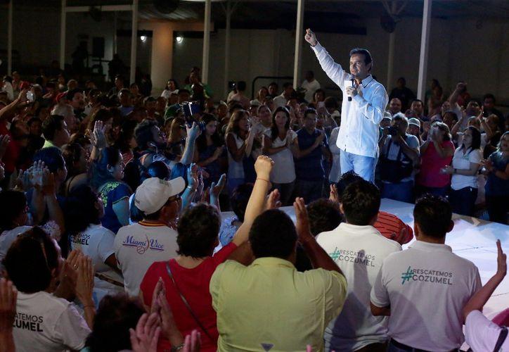 El presidente electo aún no da a conocer de manera directa a los integrantes de su gabinete. (Foto: Gustavo Villegas/SIPSE)
