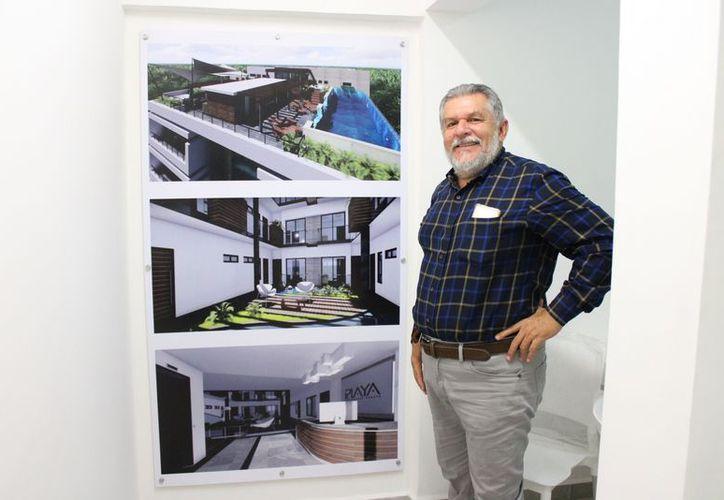 Adrián Hernández Maldonado dijo que el proyecto de la Canaco es similar a una empresa inmobiliaria. (Adrián Barreto/SIPSE)