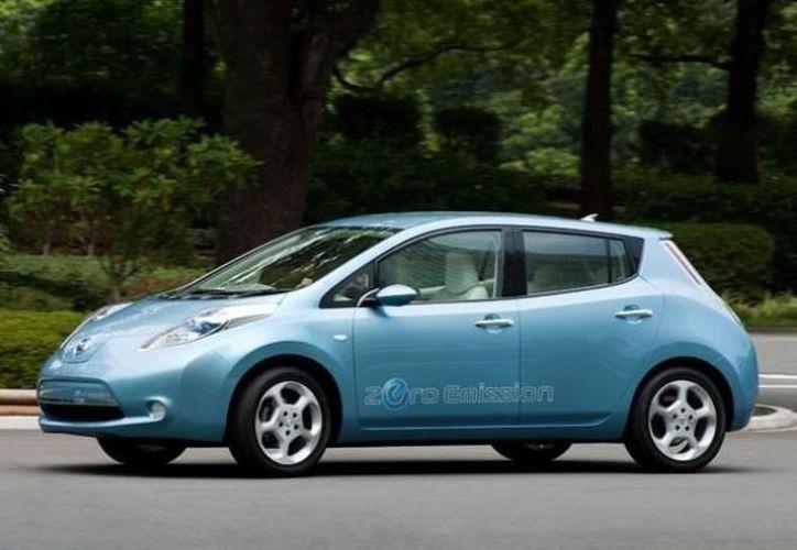 Nissan introdujo para el año 2011 alrededor de 500 vehículos eléctricos. (Archivo SIPSE)