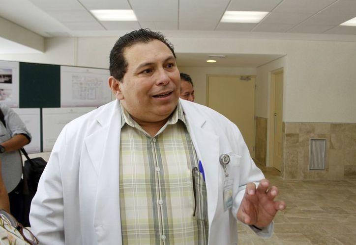 Se modernizarán incluso las unidades de segundo nivel que hoy dan atencióin de manera manual, según Felipe Alonzo Vázquez, jefe de prestaciones médicas del IMSS. (SIPSE)