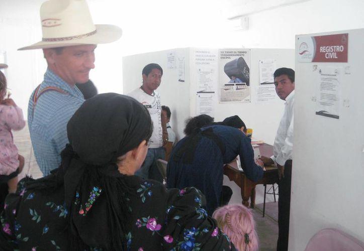 Los nombres en diminutivo, peyorativos y despectivos han sido prohibidos por el Registro Civil. (Javier Ortiz/SIPSE)