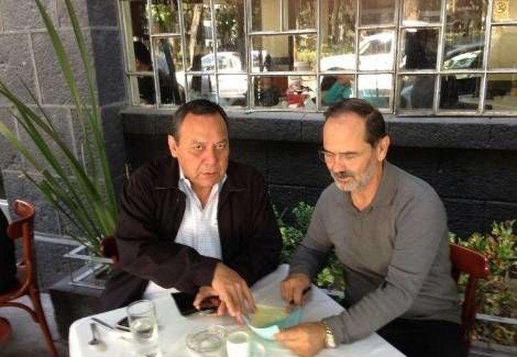 Los líderes nacionales del PAN y el PRD se reunieron este miércoles para anunciar que se mantendrán al margen del Pacto por México. (Milenio.com)