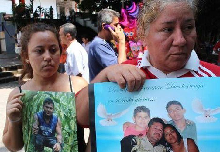 Los sobrevivientes no quieren regresar a La Pintada. (Milenio)