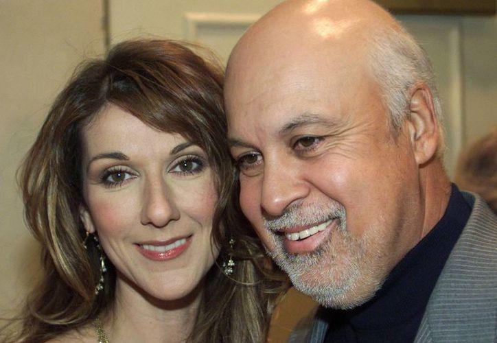 El esposo y mánager Celine Dion, Rene Angelil, murió el jueves después de una larga batalla contra el cáncer. (Agencias)