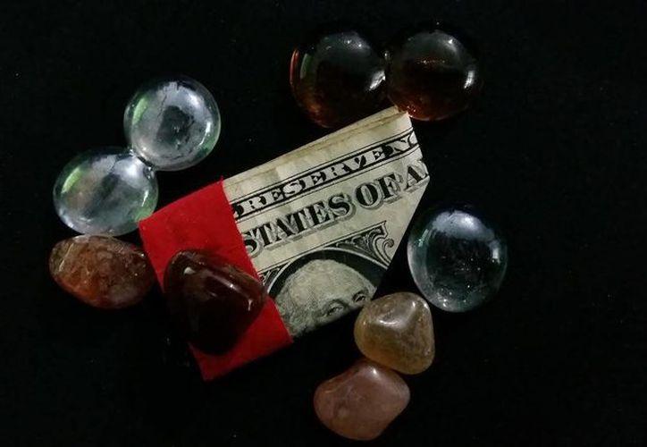 Este amuleto llamado 'Money Luck' también sirve para atraer la buena suerte al trabajo. (Jorge Moreno)