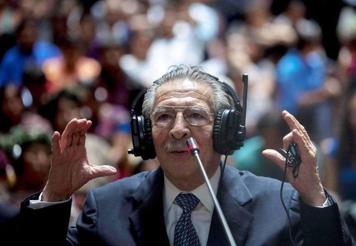 José Efraín Ríos Montt es acusado de genocidio y crímenes de guerra en Guatemala. (Archivo/EFE)
