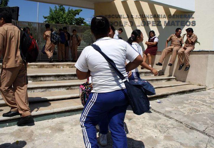 La CNDH redobla esfuerzos para concientizar sobre el grave problema de convivencia escolar. (Archivo/SIPSE)