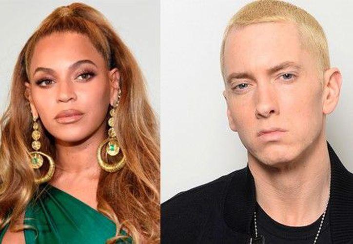"""Beyoncé y Eminem unieron su voz para el tema """"Walk on water"""". (Foto: Redacción)"""